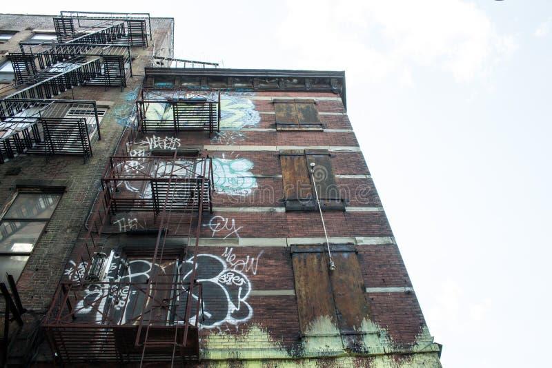 Någonstans i NY arkivbilder