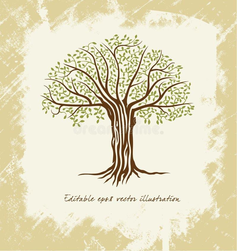 några är kan skalapd formatet för illustrationbildförlust det upplösning till treevektorn stock illustrationer