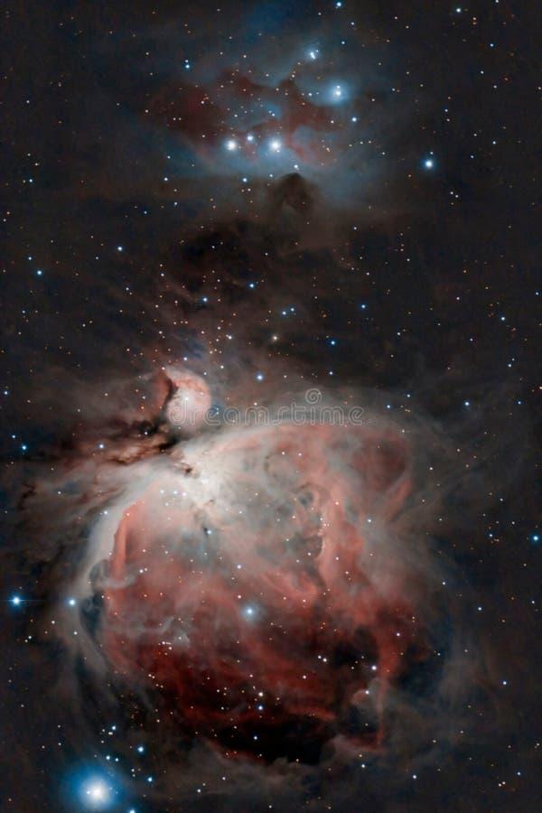 Nébuleuse grande d'Orion photographie stock libre de droits