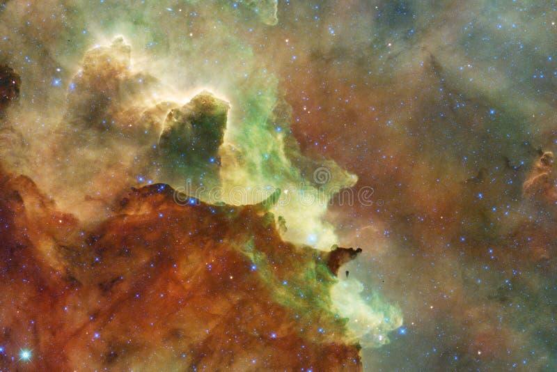 nébuleuse Image d'espace extra-atmosphérique qui convient au papier peint photos stock