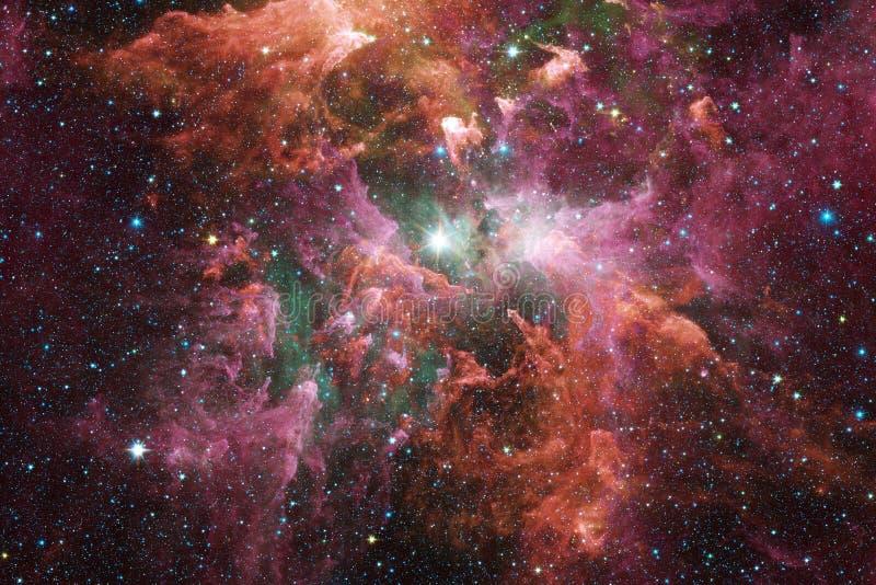 nébuleuse Image d'espace extra-atmosphérique qui convient au papier peint photo libre de droits