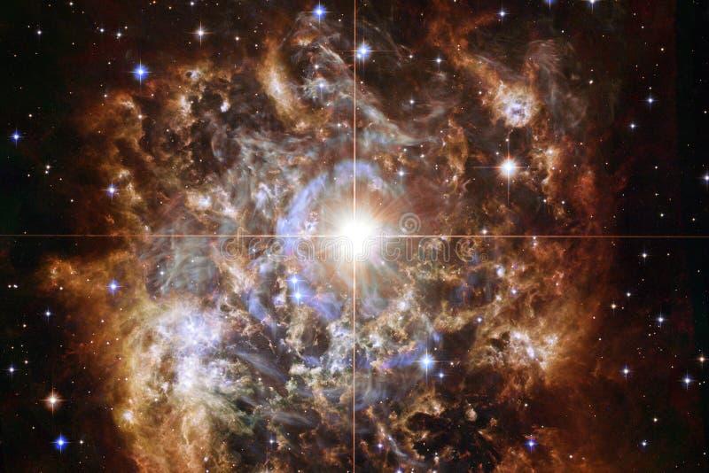 Nébuleuse impressionnante Milliards de galaxies dans l'univers photographie stock libre de droits