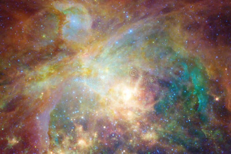 Nébuleuse impressionnante Milliards de galaxies dans l'univers photographie stock