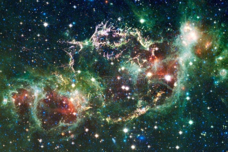 Nébuleuse impressionnante Milliards de galaxies dans l'univers image libre de droits