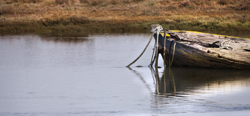 Nécropole 3. de bateau. photo stock