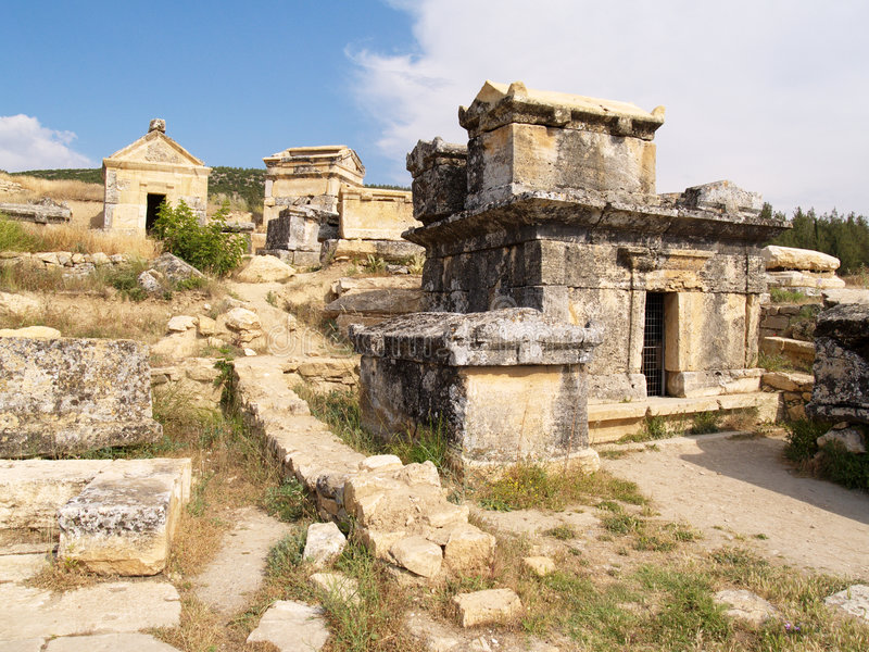 Nécropole antique, partie trois photo libre de droits