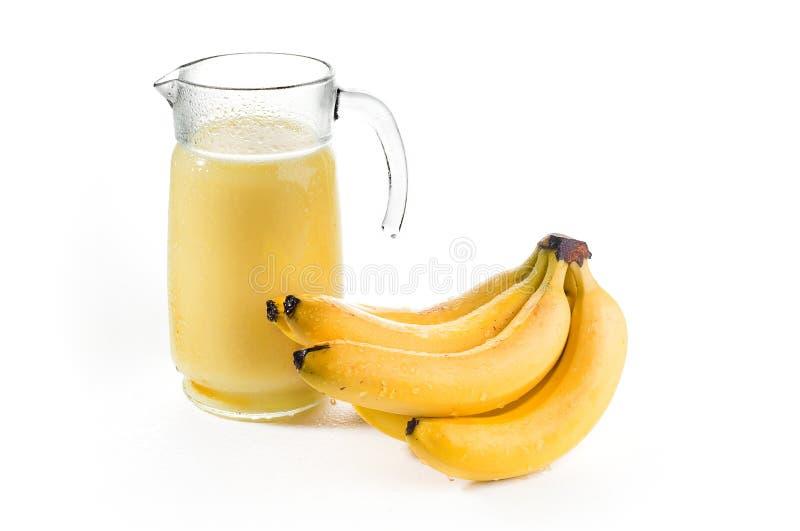 Néctar del plátano fotos de archivo