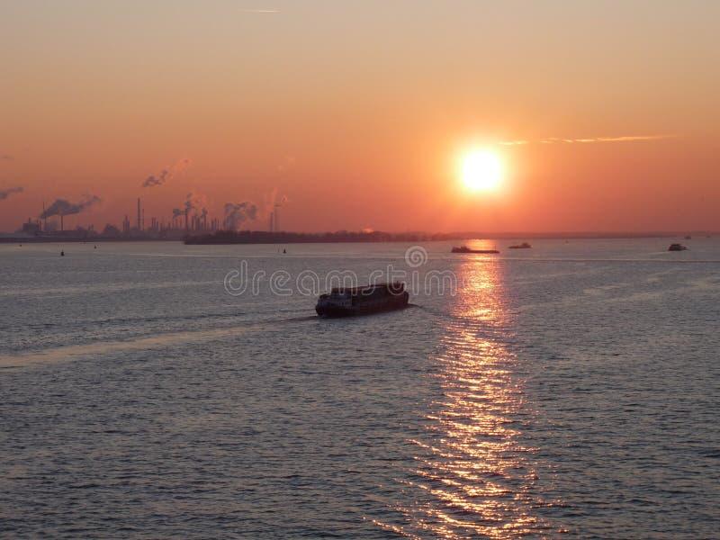 Néerlandais de porte de mer images libres de droits