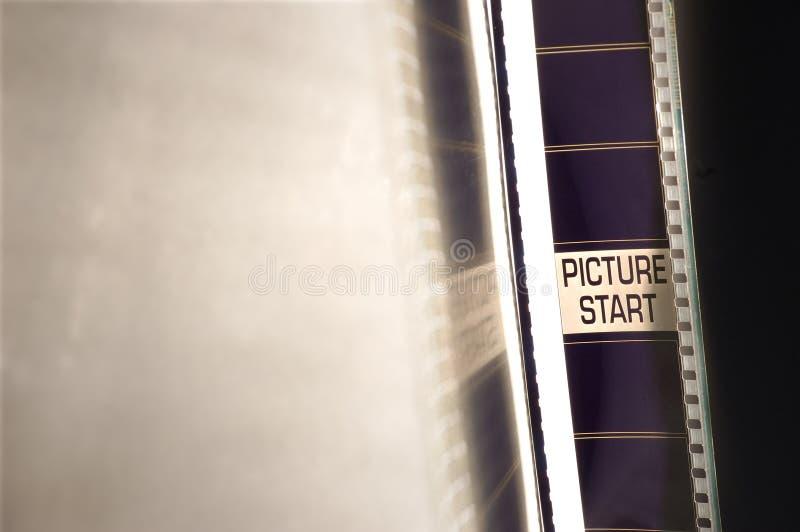 Négatif sur film images stock