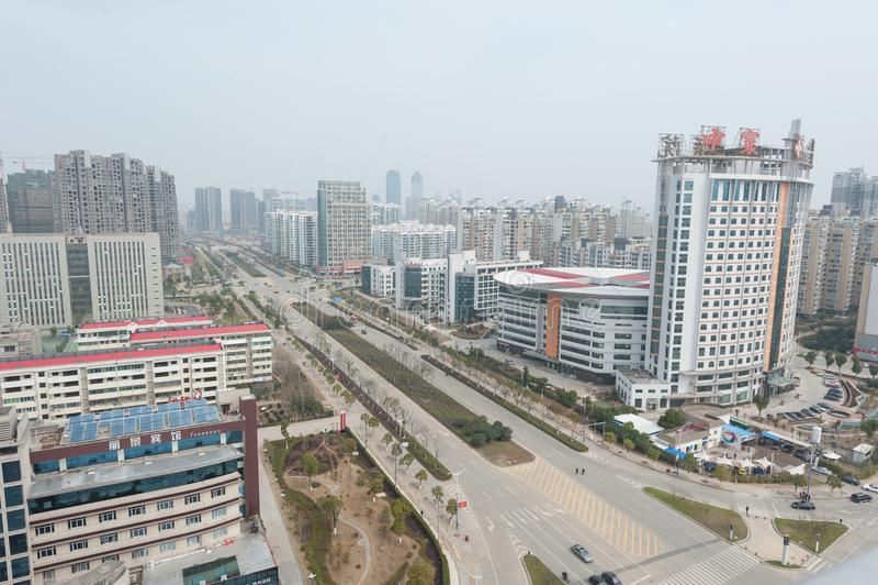 Négligence de la ville de Nan-Tchang Honggutan images stock