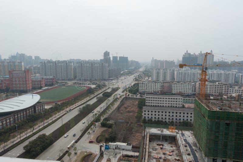 Négligence de la ville de Nan-Tchang Honggutan photos stock