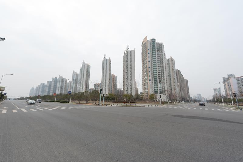 Négligence de la ville de Nan-Tchang Honggutan photo libre de droits