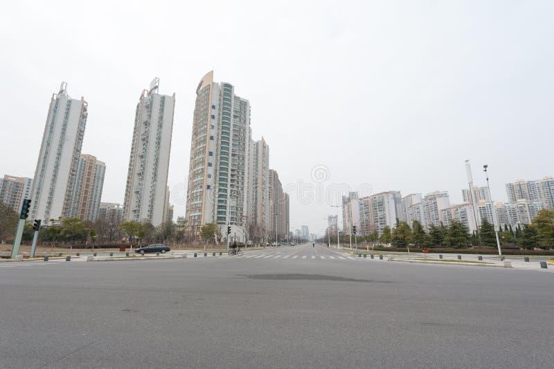 Négligence de la ville de Nan-Tchang Honggutan images libres de droits
