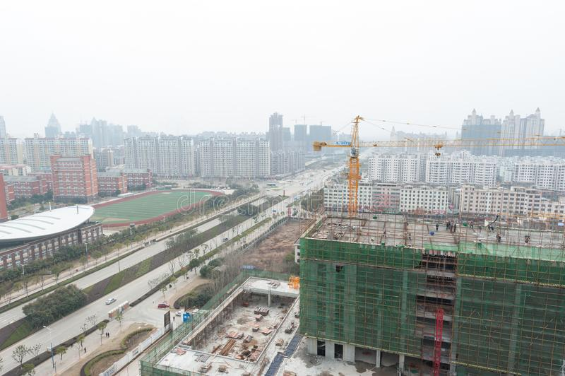 Négligence de la ville de Nan-Tchang Honggutan photos libres de droits