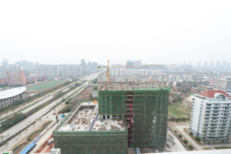 Négligence de la ville de Nan-Tchang Honggutan image stock