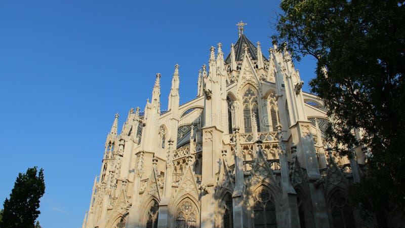 Néo- église gothique historique de Votiv photographie stock libre de droits