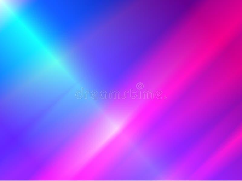 Néo- fond noir de couleurs Nouvelles rétros couleurs de gradient de vague illustration libre de droits