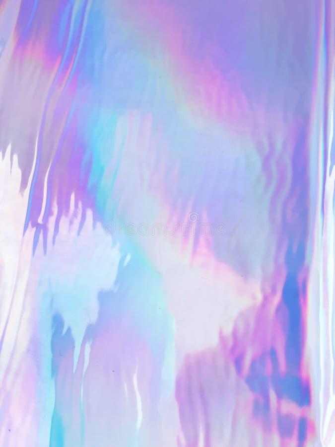 Néon olographe et couleurs en pastel photographie stock libre de droits