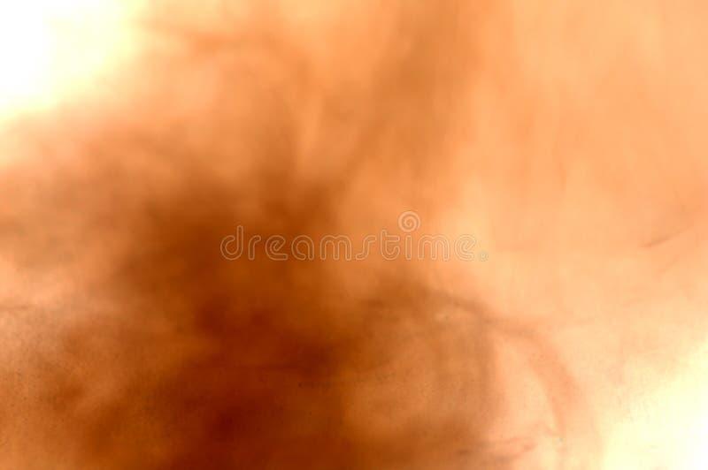 Névoa abstrata da areia e da poeira ilustração stock