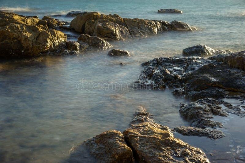 Névoa bonita do mar imagem de stock royalty free