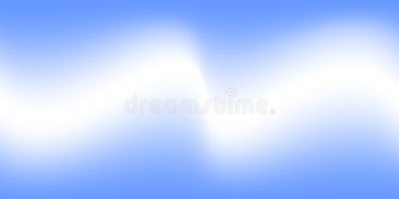 Névoa branca do vetor do sumário na ilustração azul do vetor do efeito especial do fundo, da névoa ou do fumo ilustração royalty free
