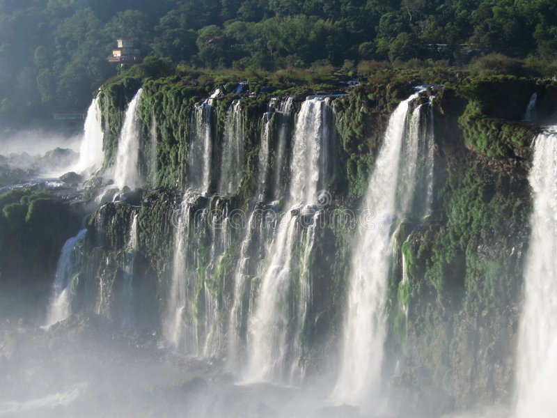 Névoa de Iguassu imagens de stock