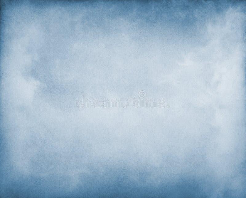 Névoa no azul