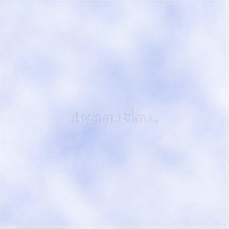 Névoa no céu ilustração stock