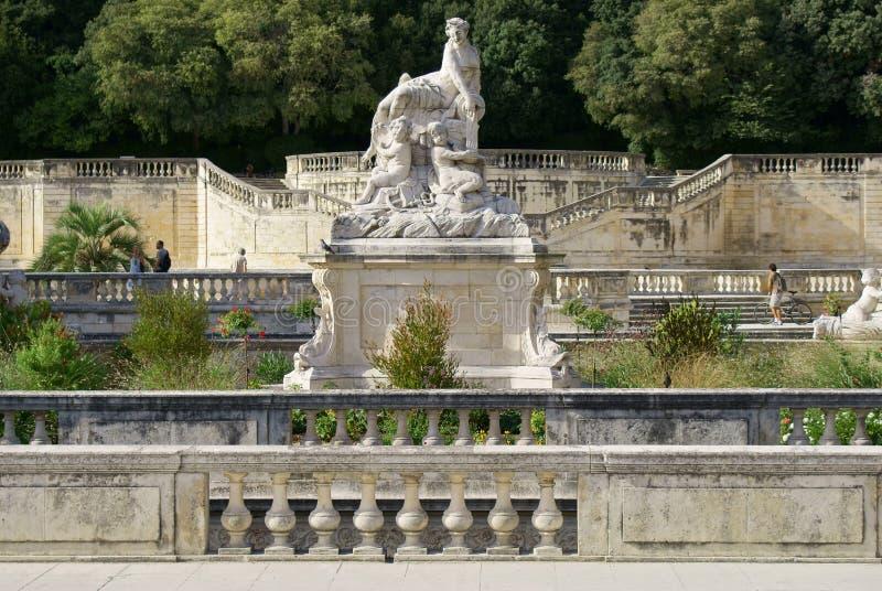 Nîmes photographie stock libre de droits