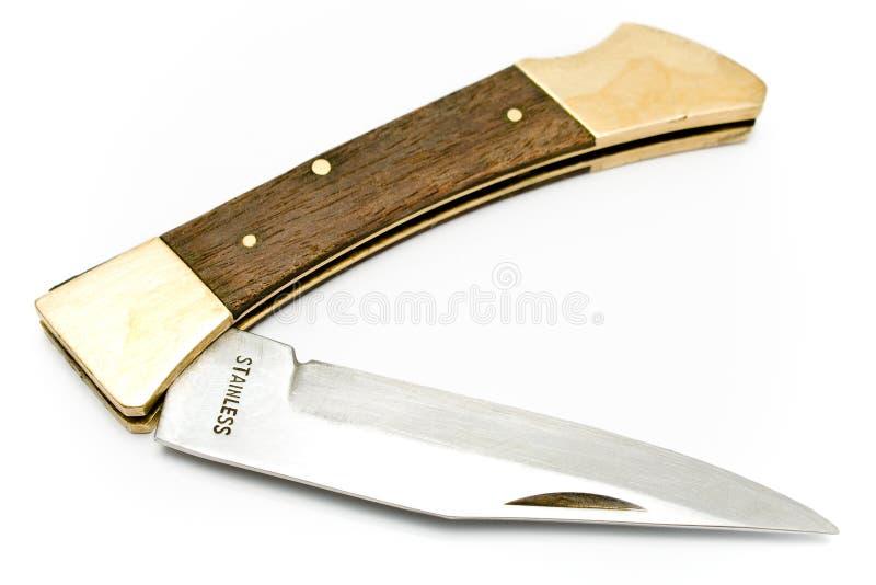nóż kieszeń zdjęcie stock