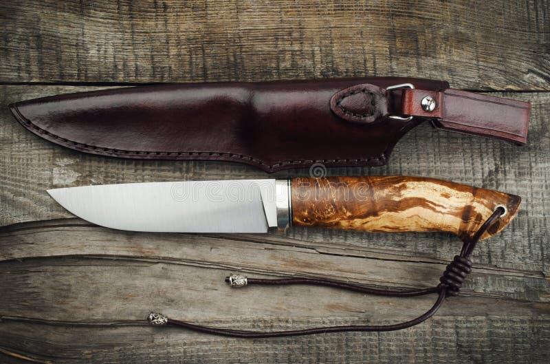nóż myśliwski zdjęcie stock