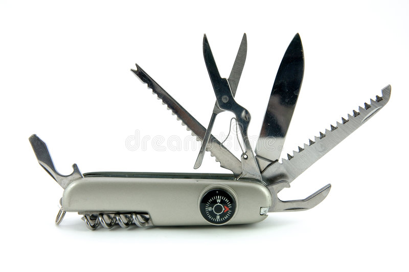 nóż w kieszeni zdjęcia stock