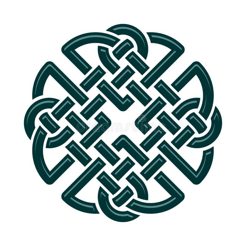 Nó celta ilustração do vetor
