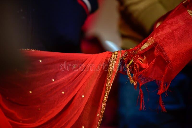 Nó hindu do casamento fotografia de stock