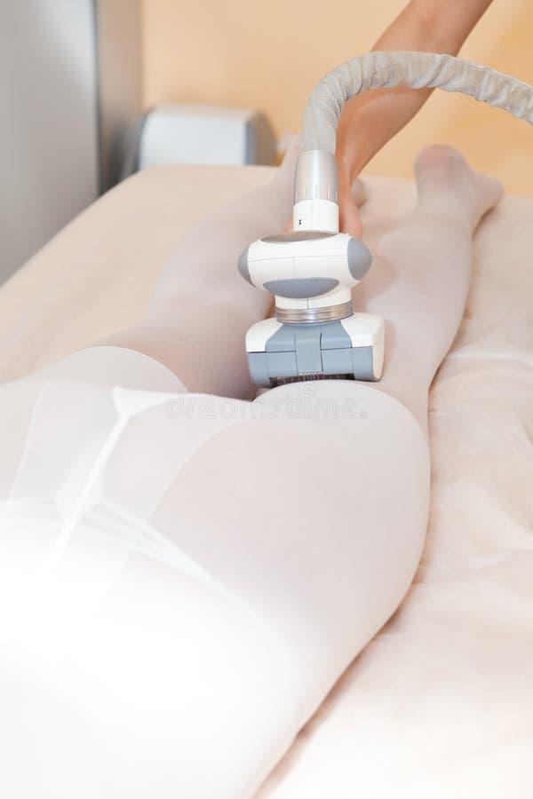 nóg masażu próżnia zdjęcia stock