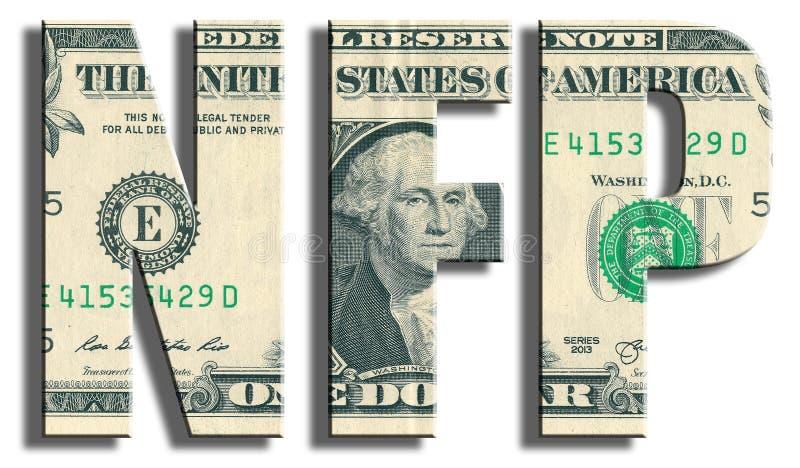 Nóminas de pago no agrícolas - indicador macroeconómico imagen de archivo libre de regalías