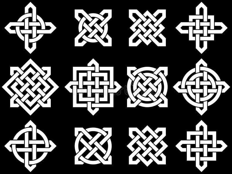 Nós celtas  ilustração do vetor