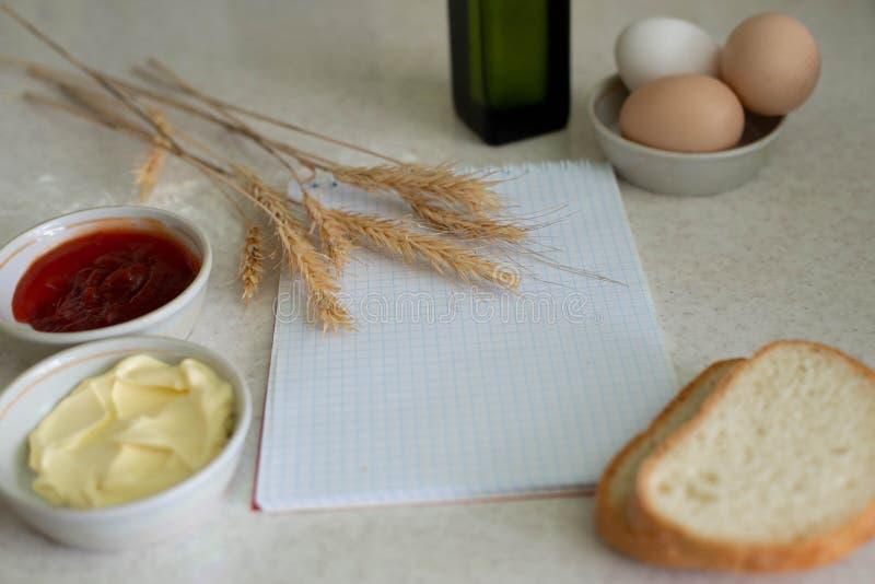 Nós cozinhamos um grande café da manhã foto de stock royalty free
