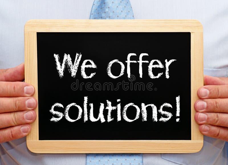 Nós oferecemos soluções imagens de stock royalty free