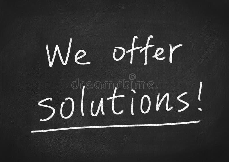 Nós oferecemos soluções foto de stock royalty free