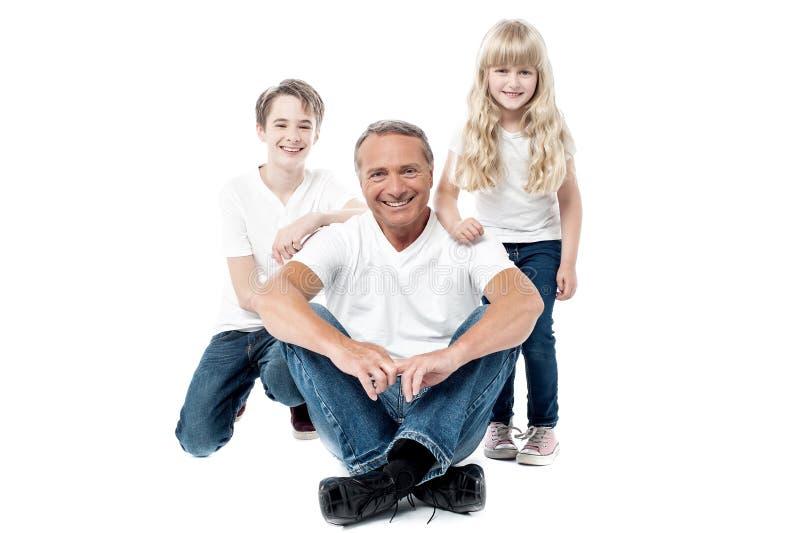 Nós somos a família feliz fotos de stock royalty free