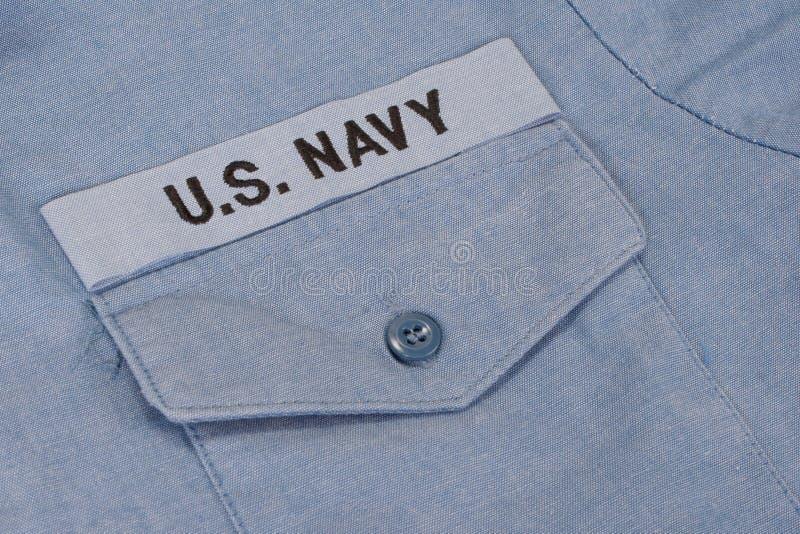 Nós uniforme da marinha foto de stock