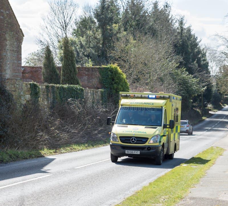 Nöd- ambulans arkivbilder