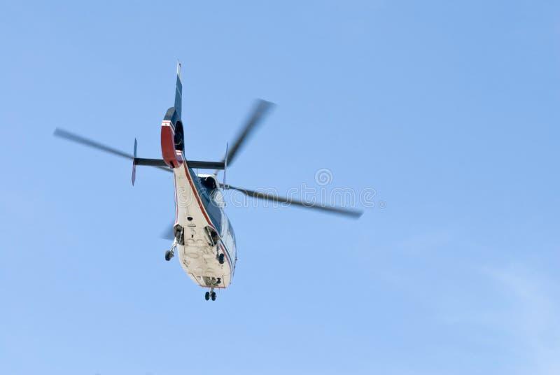 nödlägehelikopter arkivbild