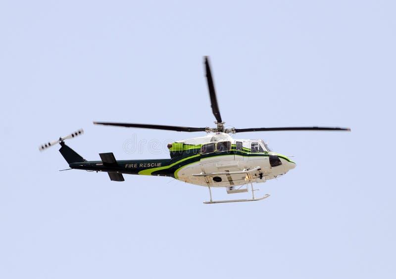 nödlägehelikopter royaltyfri bild