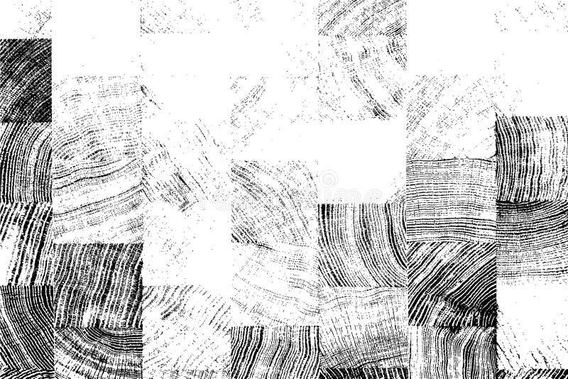 Nödlägeträbakgrund vektor illustrationer