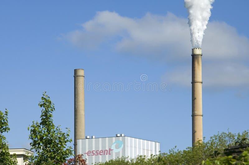 Nödvändig kraftverk Geertruidenberg, Nederländerna arkivbilder