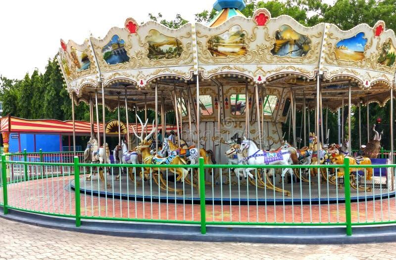 Nöjesfält för Ramoji filmstad - Hyderabad, Indien arkivfoto
