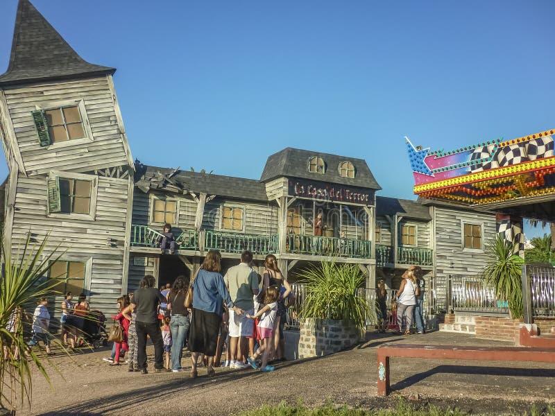 Nöjesfält i Montevideo royaltyfria bilder