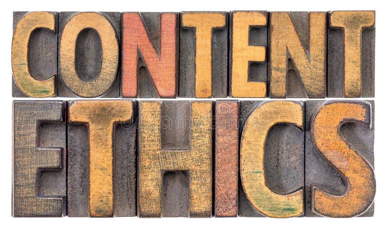 Nöjt etikordabstrakt begrepp i trätyp fotografering för bildbyråer